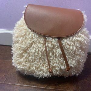 Super Soft Sherpa Backpack